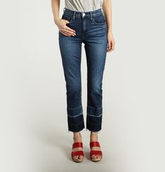 Jean W4 Shelter Straight Crop