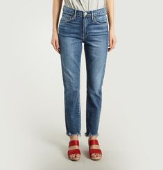 Jean W3 Straight Authentic Crop
