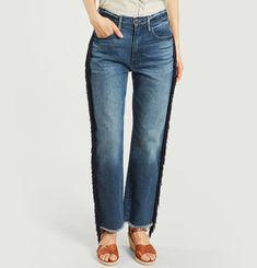 W3 Higher Crop Jeans