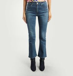W4 Cropped Boot Jeans
