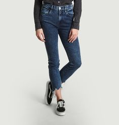 Straight Authentic Crop Jeans