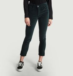Velvet Higher Ground Mini Split Jeans