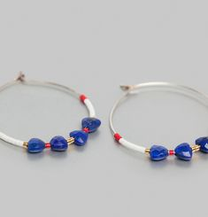 Boucles d'Oreilles French Kiss