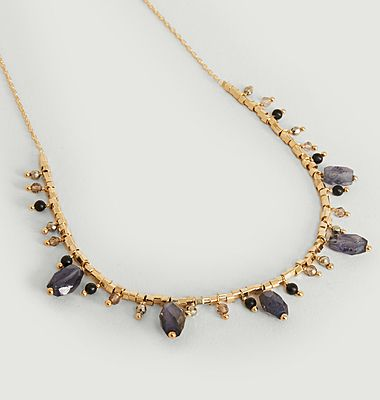 Luce necklace with stones