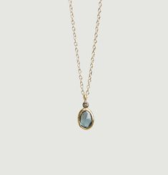 Aby Sapphire Blue Necklace