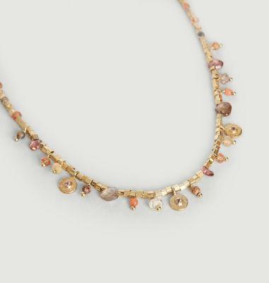 Collier Asia Tourmaline Rose