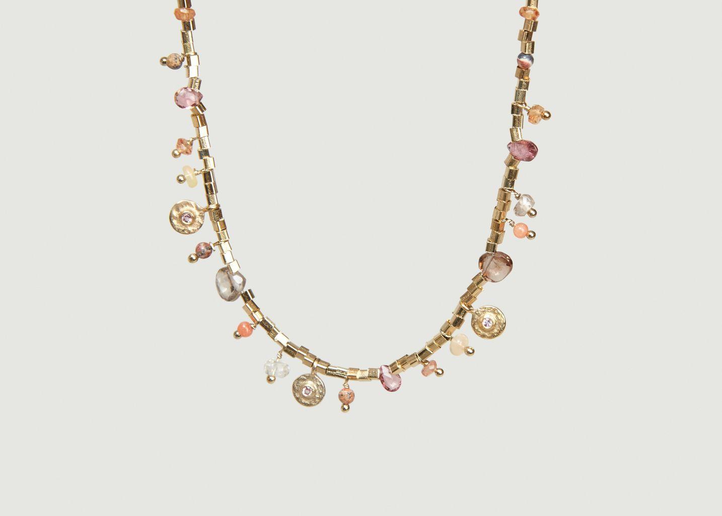Collier Asia Tourmaline Rose - 5 Octobre