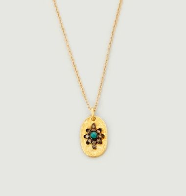 Collier Manu Turquoise