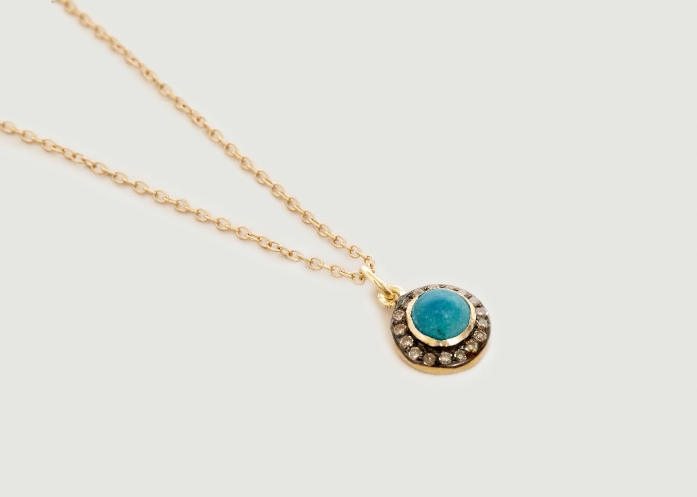 Collier Lapi Turquoise - 5 Octobre
