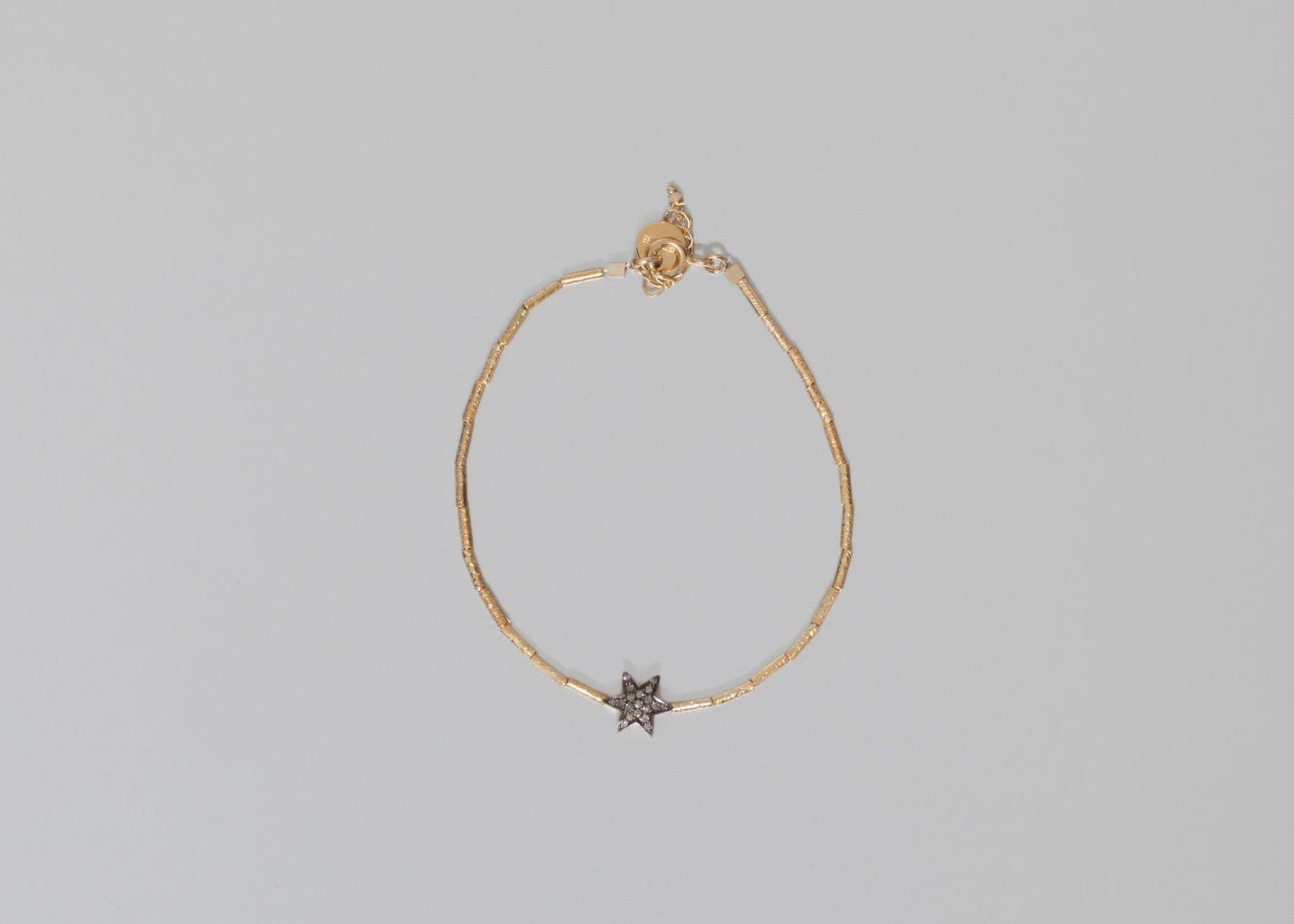 bracelet kiki 5 octobre or l 39 exception. Black Bedroom Furniture Sets. Home Design Ideas