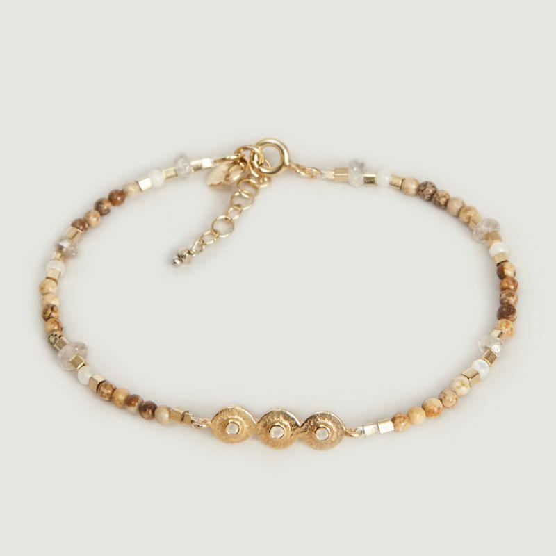 Bracelet Mille n°2 Pierre de Lune - 5 Octobre