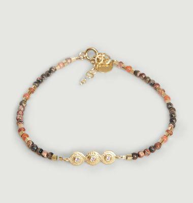 Bracelet Mille n°2 Tourmaline Rose