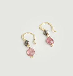 Boucles d'Oreilles Aglae Rose
