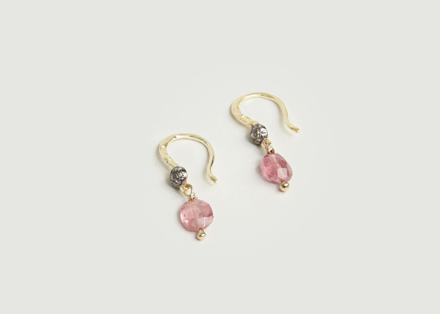 Boucles d'Oreilles Aglae Rose - 5 Octobre