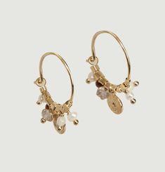 Suzie Moonstone Earrings