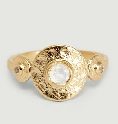 Elie Moonstone Ring