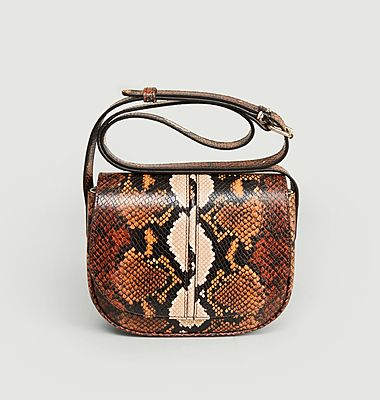 Sac Betty cuir embosse python