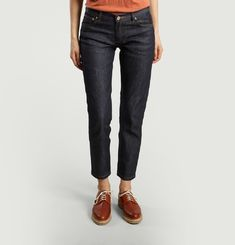 Short Straight Jeans