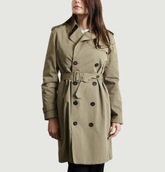 Joséphine Double Breasted Trench