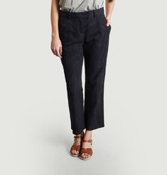 Cece Striped Trousers