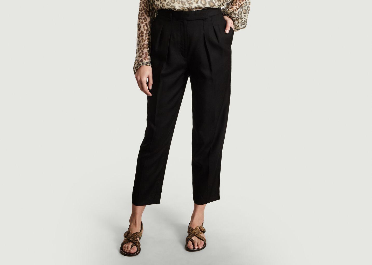 Pantalon A Pinces 7/8e Cheryl - A.P.C.