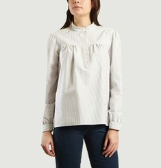 Loula Striped Blouse