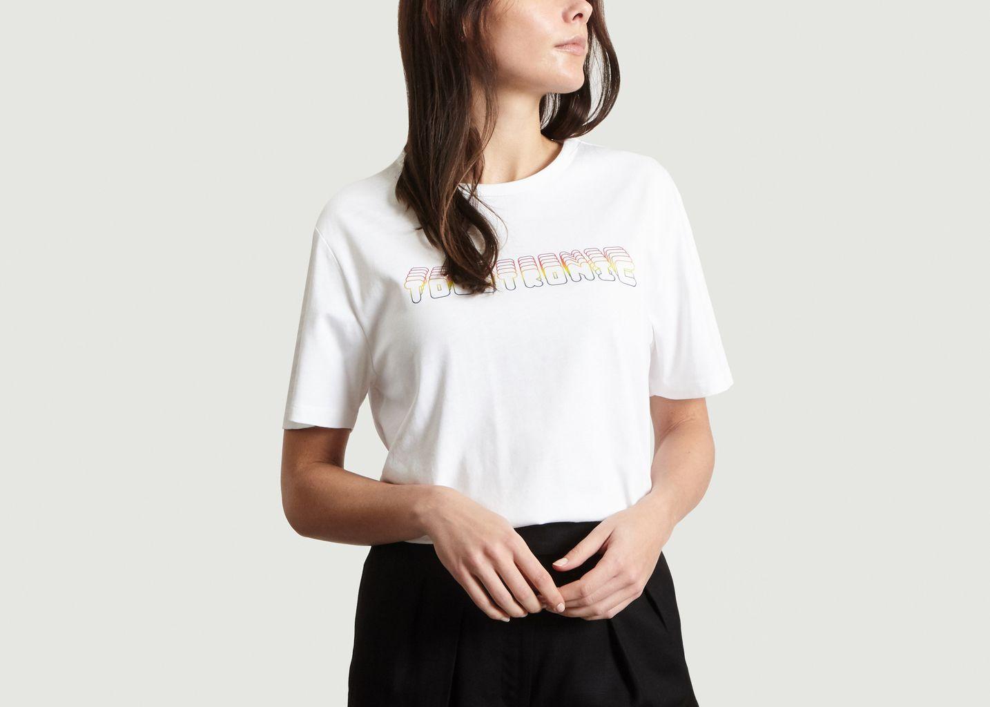 T-Shirt Print Fantaisie Touitronic - A.P.C.