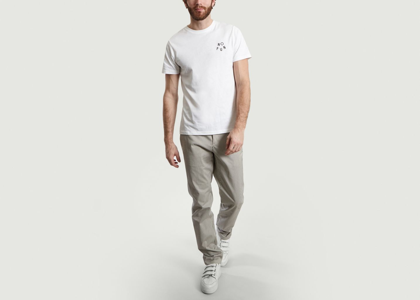 T-Shirt Print No Fun - A.P.C.