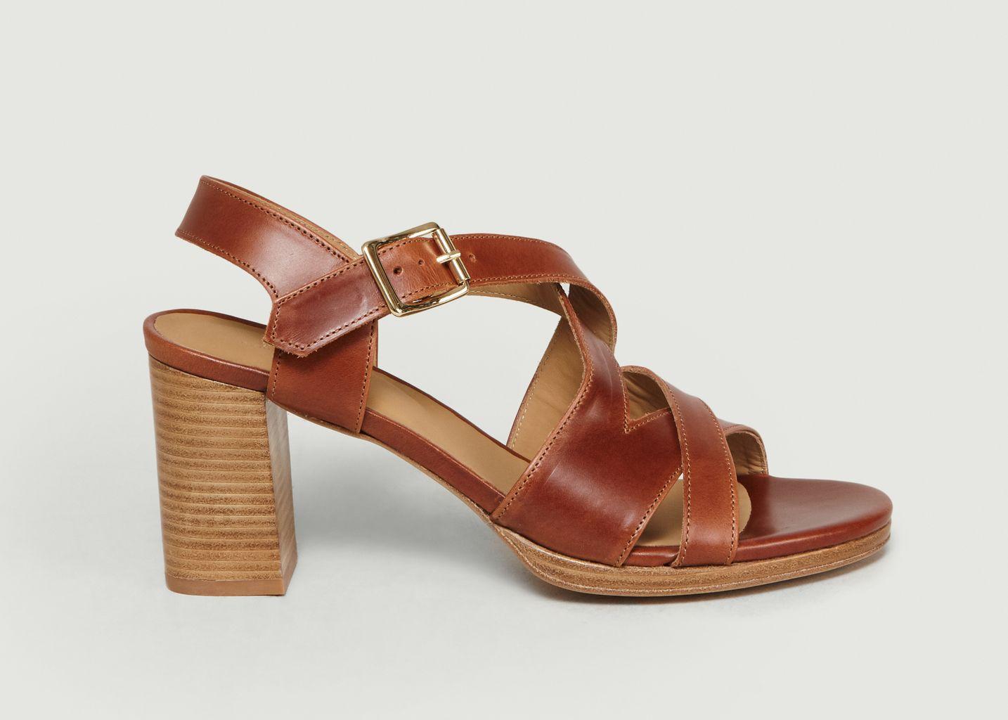 Sandales En Cuir Salma  - A.P.C.