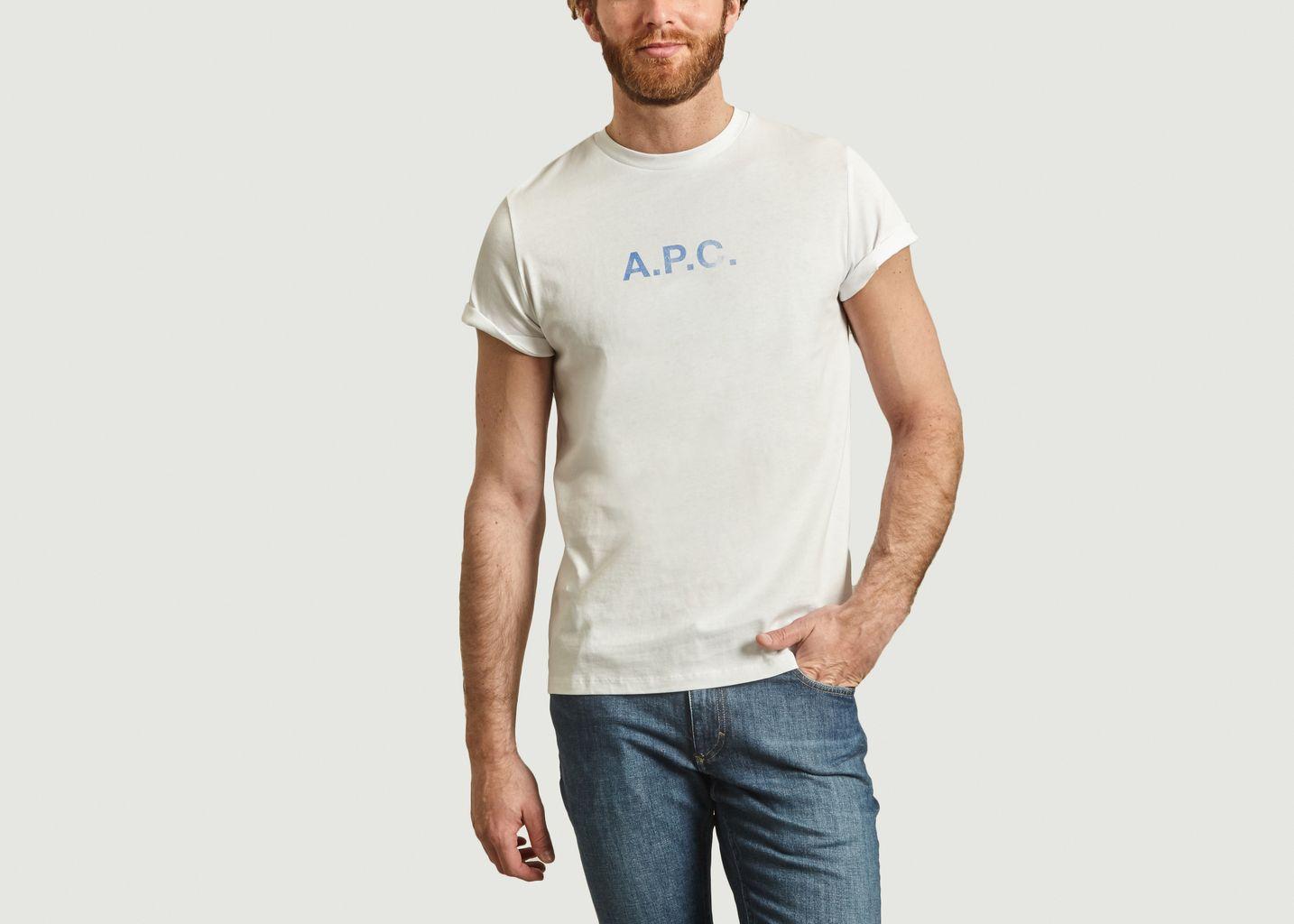 T-Shirt Logotypé Stamp - A.P.C.