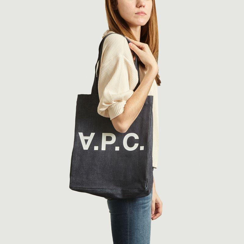 Sac Shopping En Denim Laure - A.P.C.