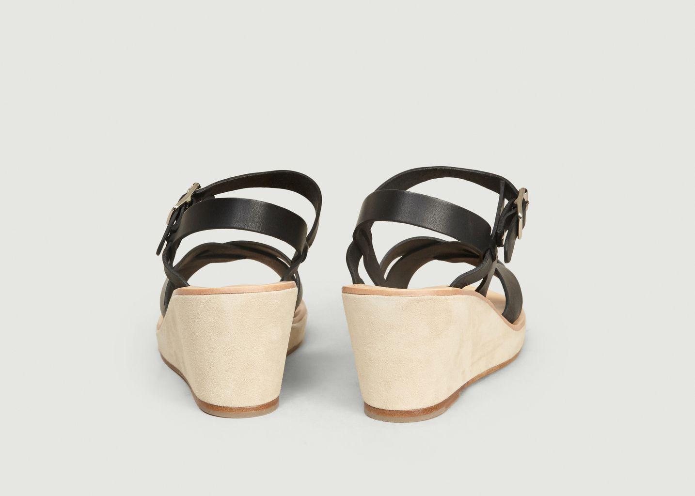 Sandales En Cuir Judith - A.P.C.
