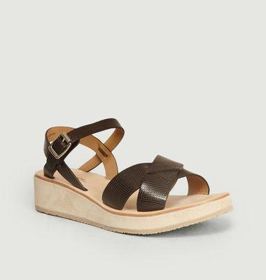 Sandales En Cuir Originales