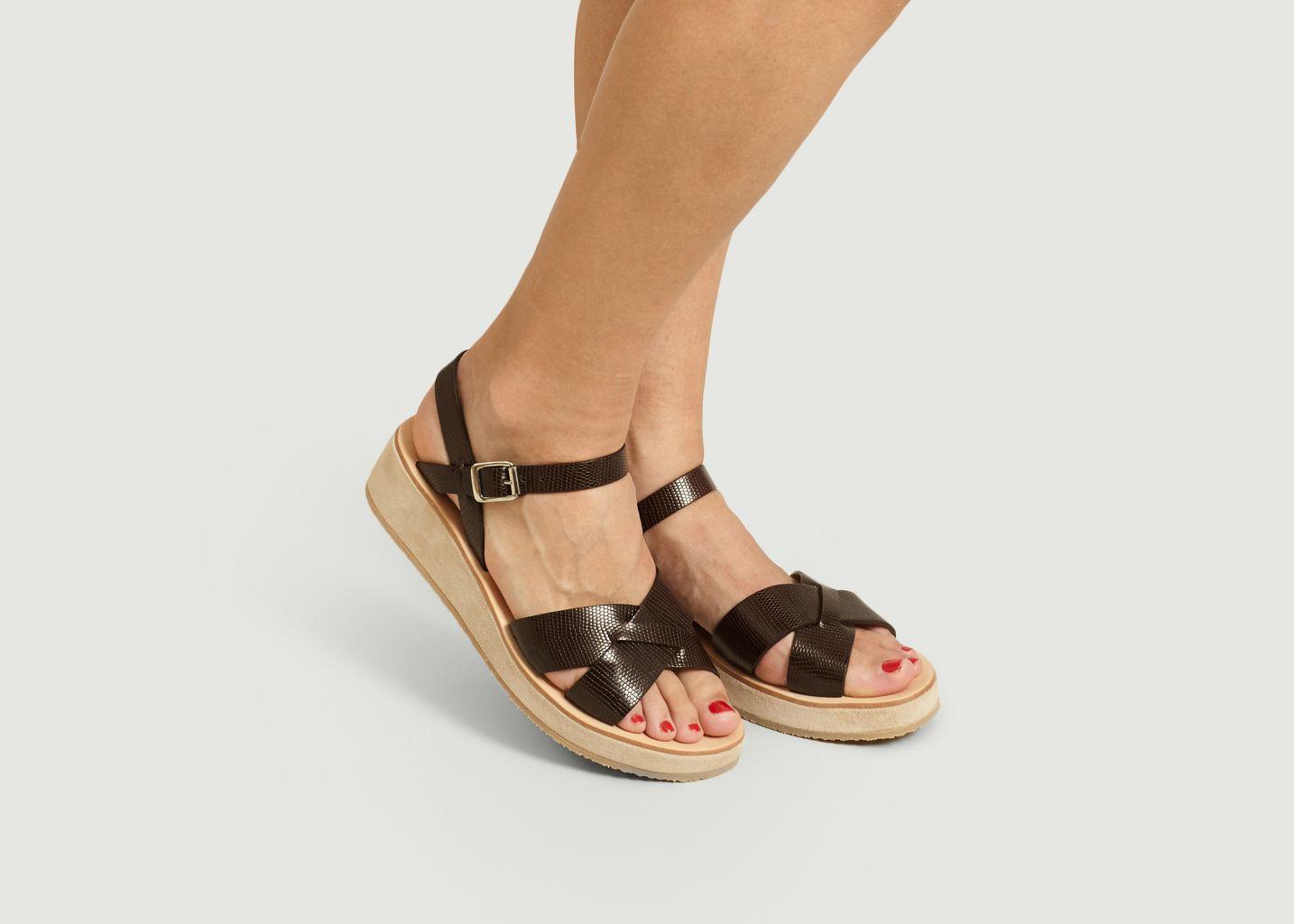 Sandales En Cuir Originales - A.P.C.