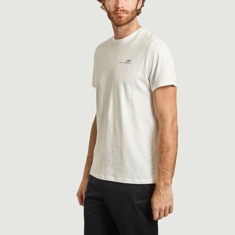 T-shirt siglé Item - A.P.C.