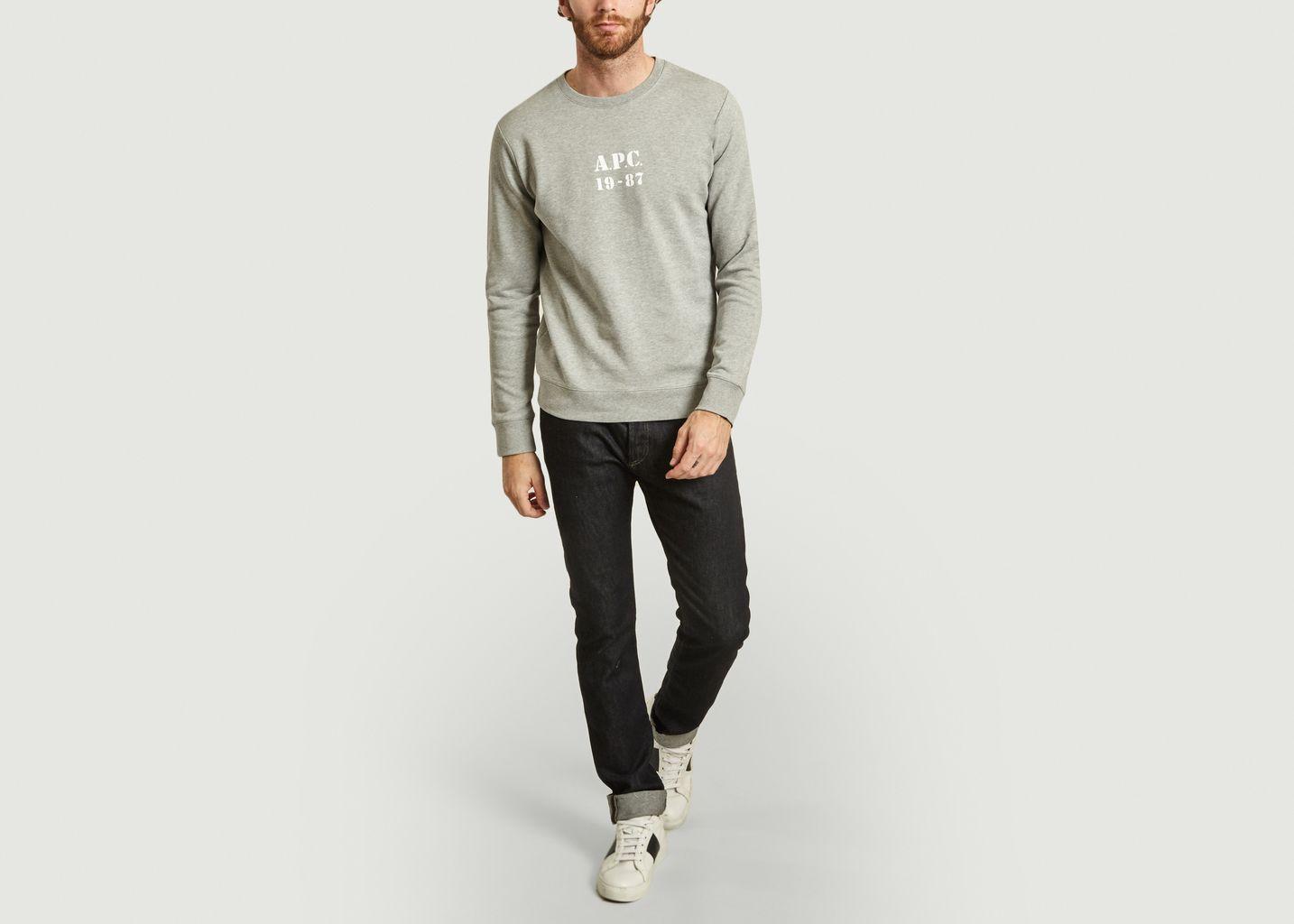 Sweatshirt siglé Gaby  - A.P.C.