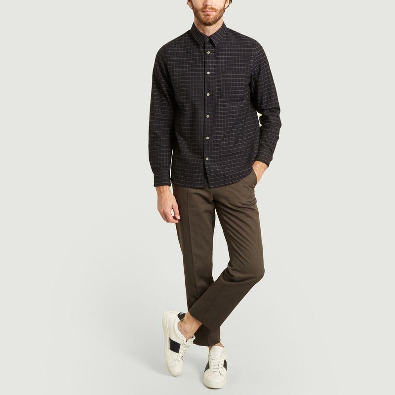 Pantalon cropped en coton et lin Raphael  - A.P.C.