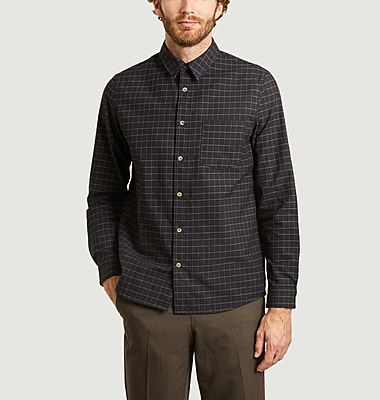 Vico checked cotton overshirt