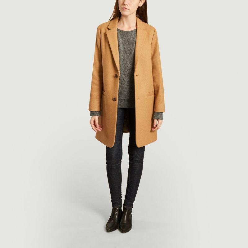 Manteau droit Carver - A.P.C.