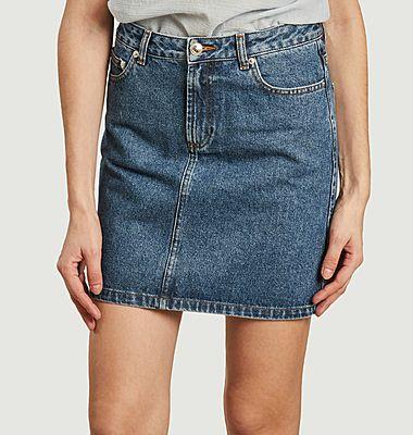 Jupe en jean standard