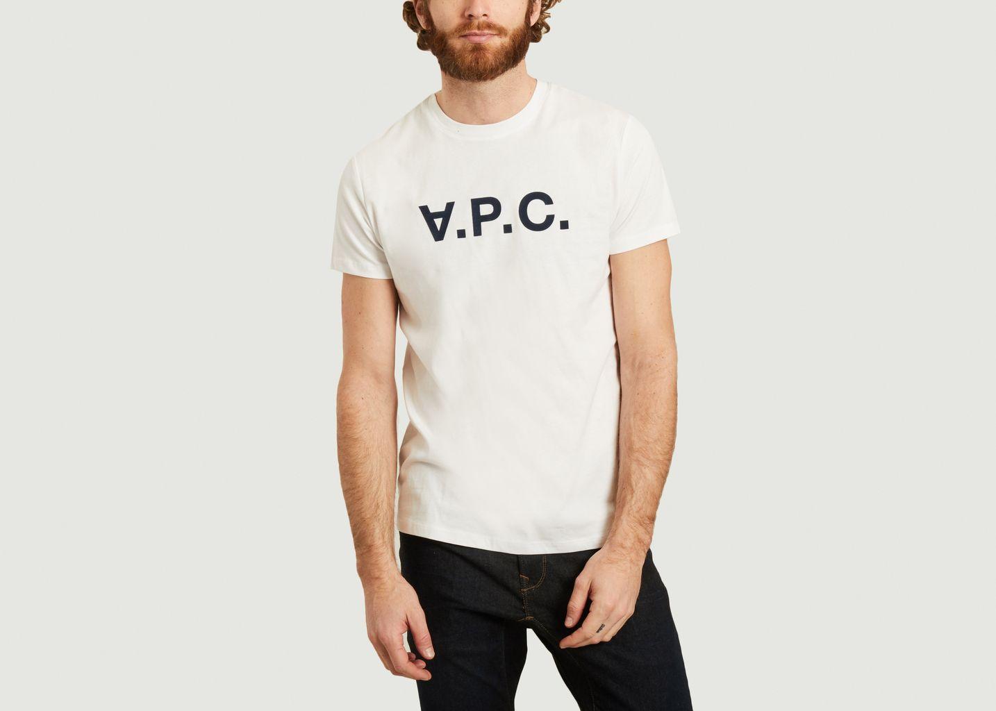 T-shirt siglé V.P.C. - A.P.C.