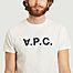 matière T-shirt siglé V.P.C. - A.P.C.