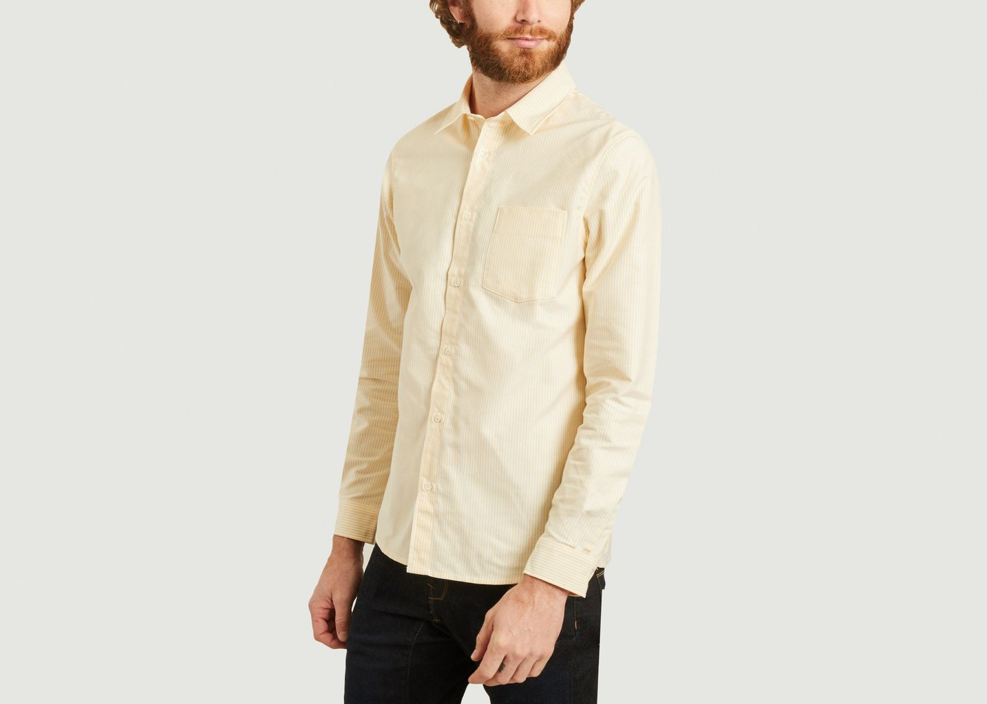 chemise rayée - A.P.C.