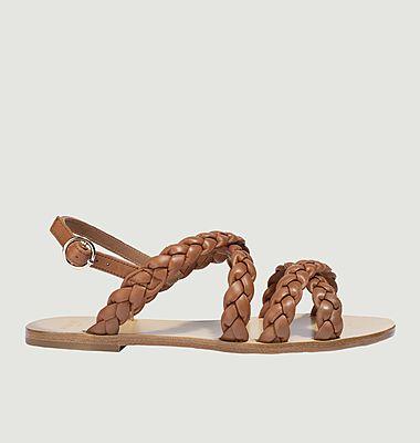 Sandales Ambre