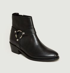 Bottines En Cuir Freddie