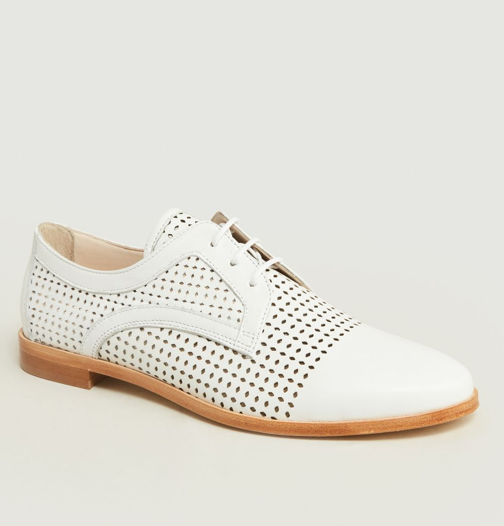 Soldes Derbies Mango Blanc Anaki à -50%   L Exception 6b4fed3eec4e