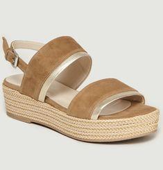 Sandales Compensées Pur
