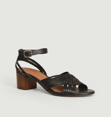 Sandales en cuir Héloïse