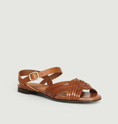 Sandales en cuir Anne