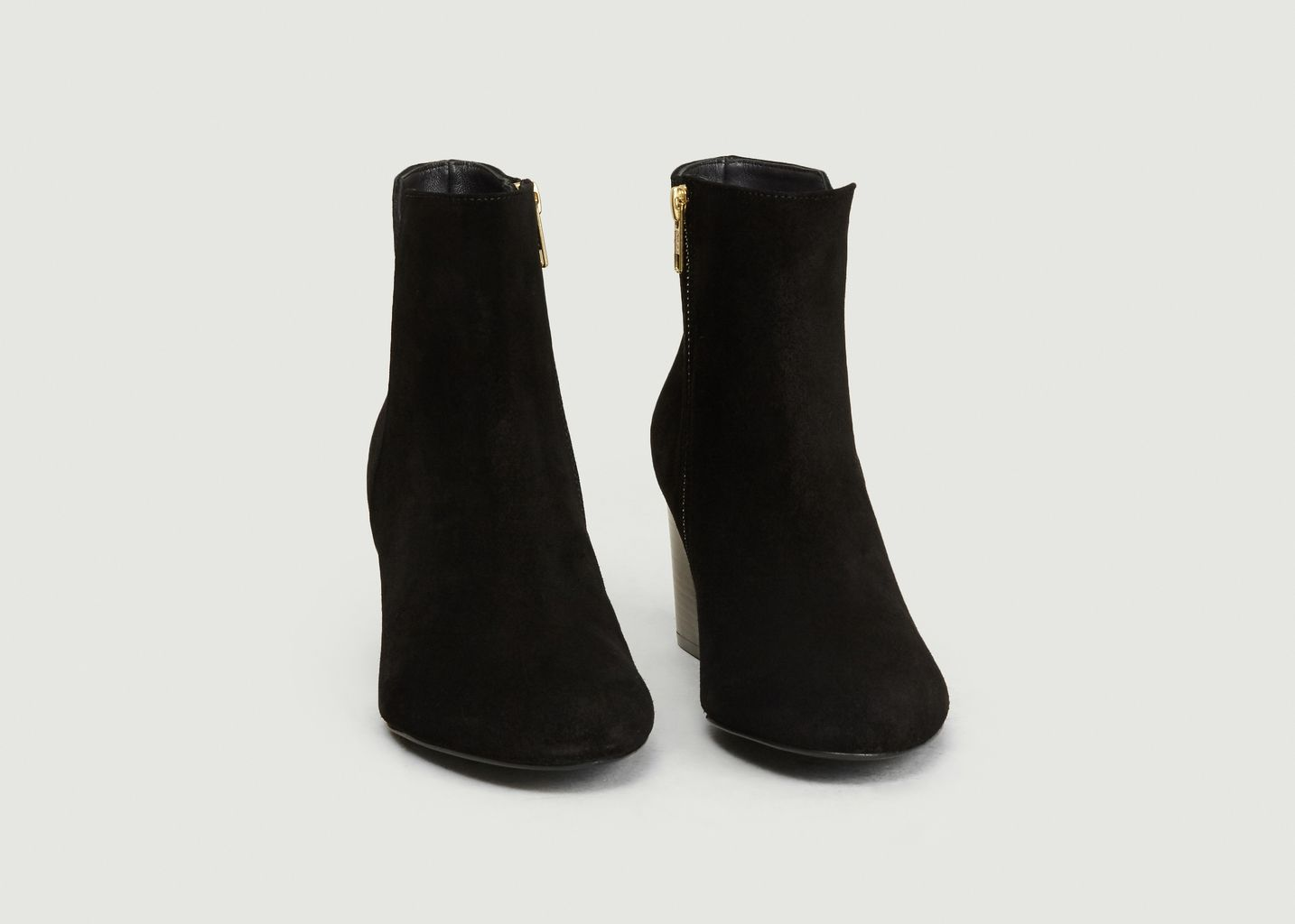 Bottines En Veau Velours Virgin - Anaki